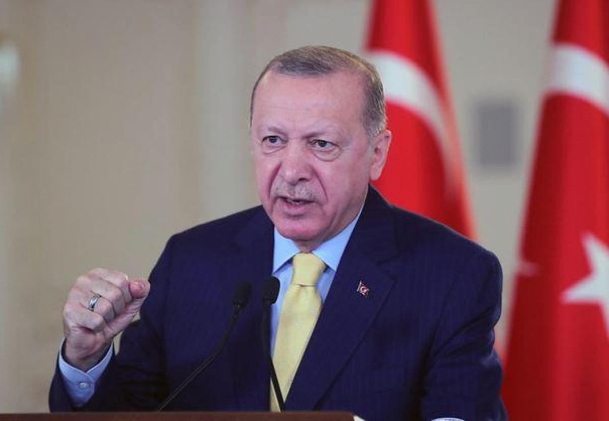 Cumhurbaşkanı Erdoğan Anadolu Efes' e mesaj yazdı