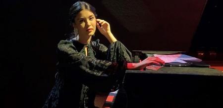 Piyanist Iraz Yıldız, Kültür Bakanlığı için konser verdi